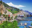 Beautiful Positano Italy Hdr HD Desktop Background