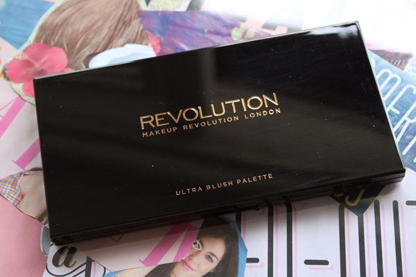 รีวิว Makeup Revolution Blush Palette