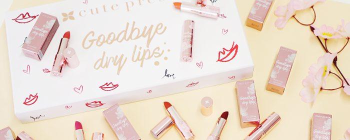 รีวิว Cute Press Goodbye Dry Lips ลิปครีมปากสวย ชุ่มชื้นน่าจุ๊บ!